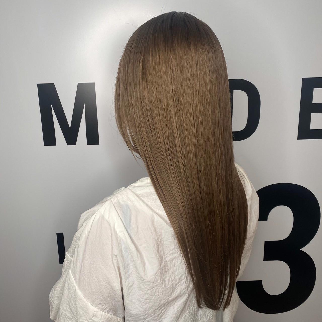 髪質改善トリートメントが自慢のサロン