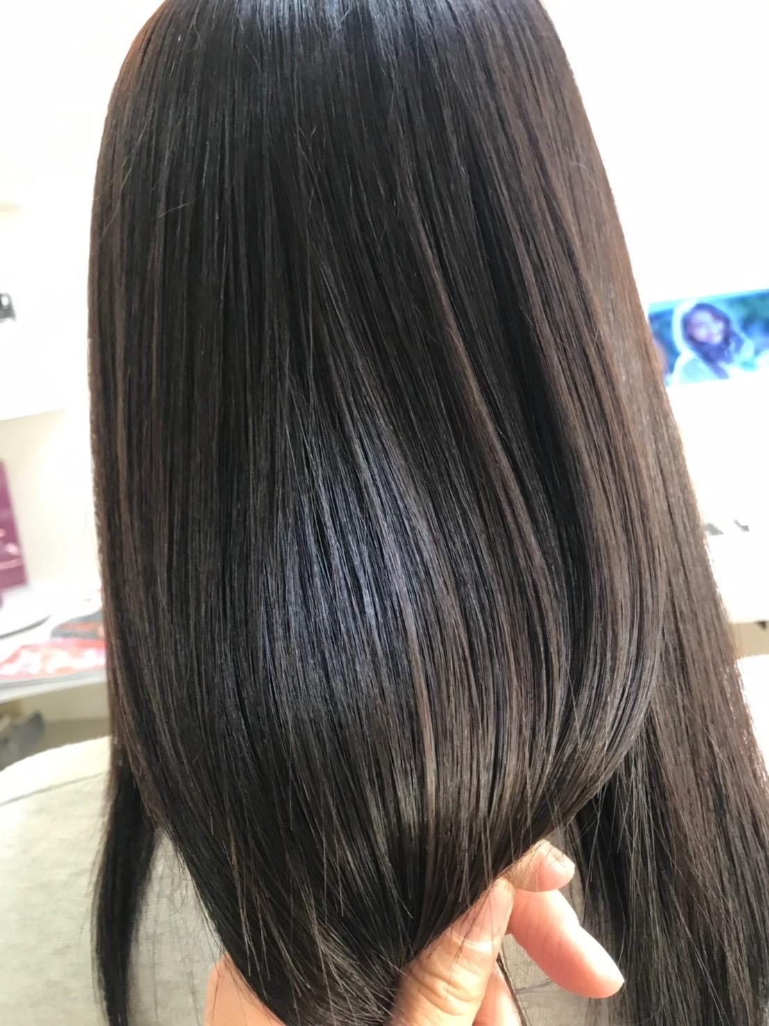 天使の輪が実現すると話題の「サイエンスアクア」。髪の芯から潤いをチャージし、髪質を改善いたします◎
