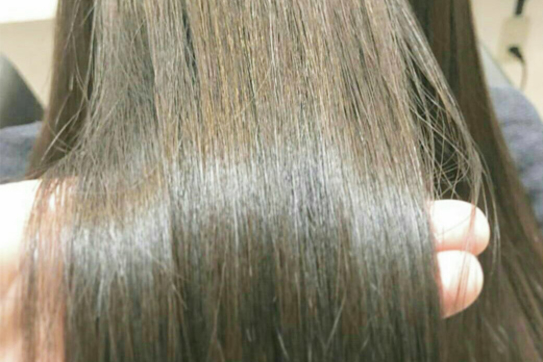 髪に優しいオーガニックカラー剤を使用!