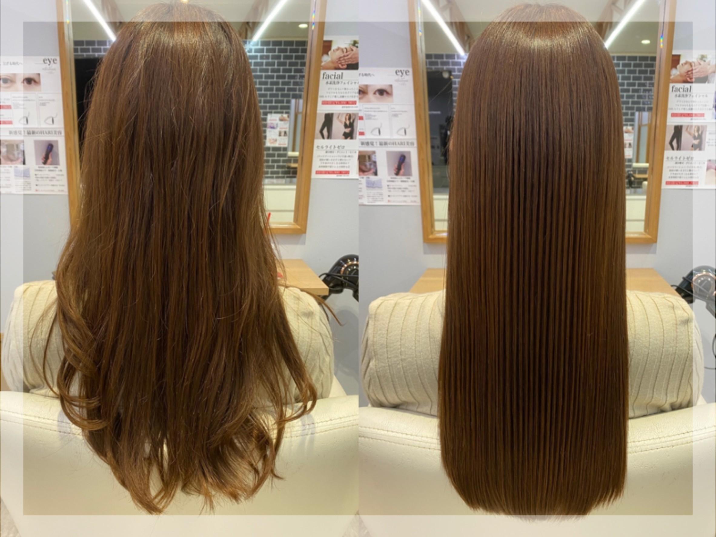 トリートメント、髪質改善などの美髪系メニューが豊富♪