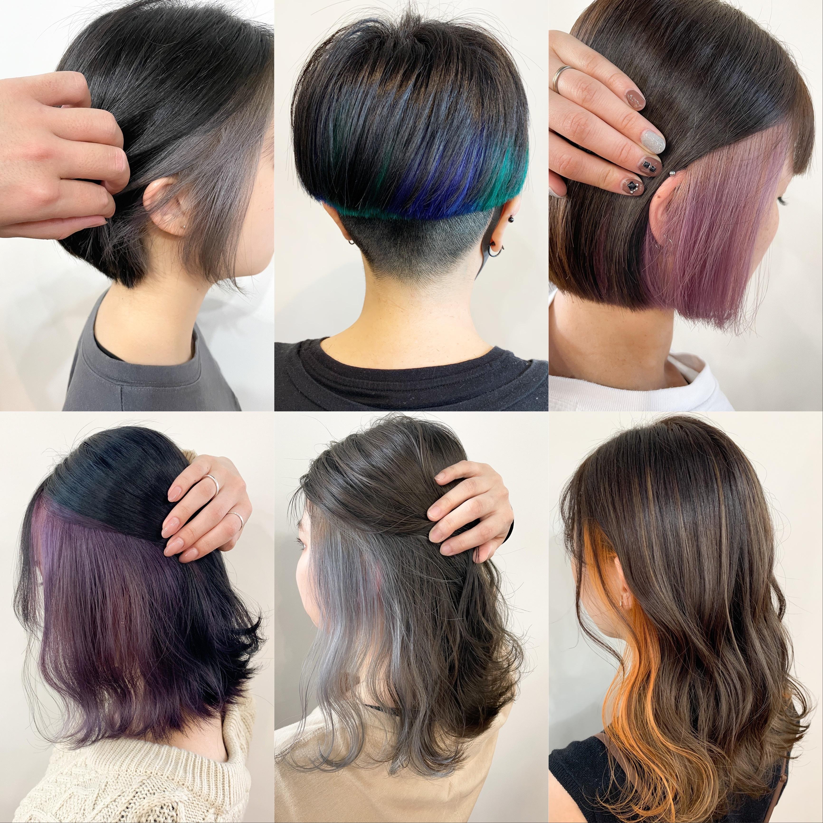 周りからも可愛い、格好いいと言われるヘアスタイル作りをしています♪