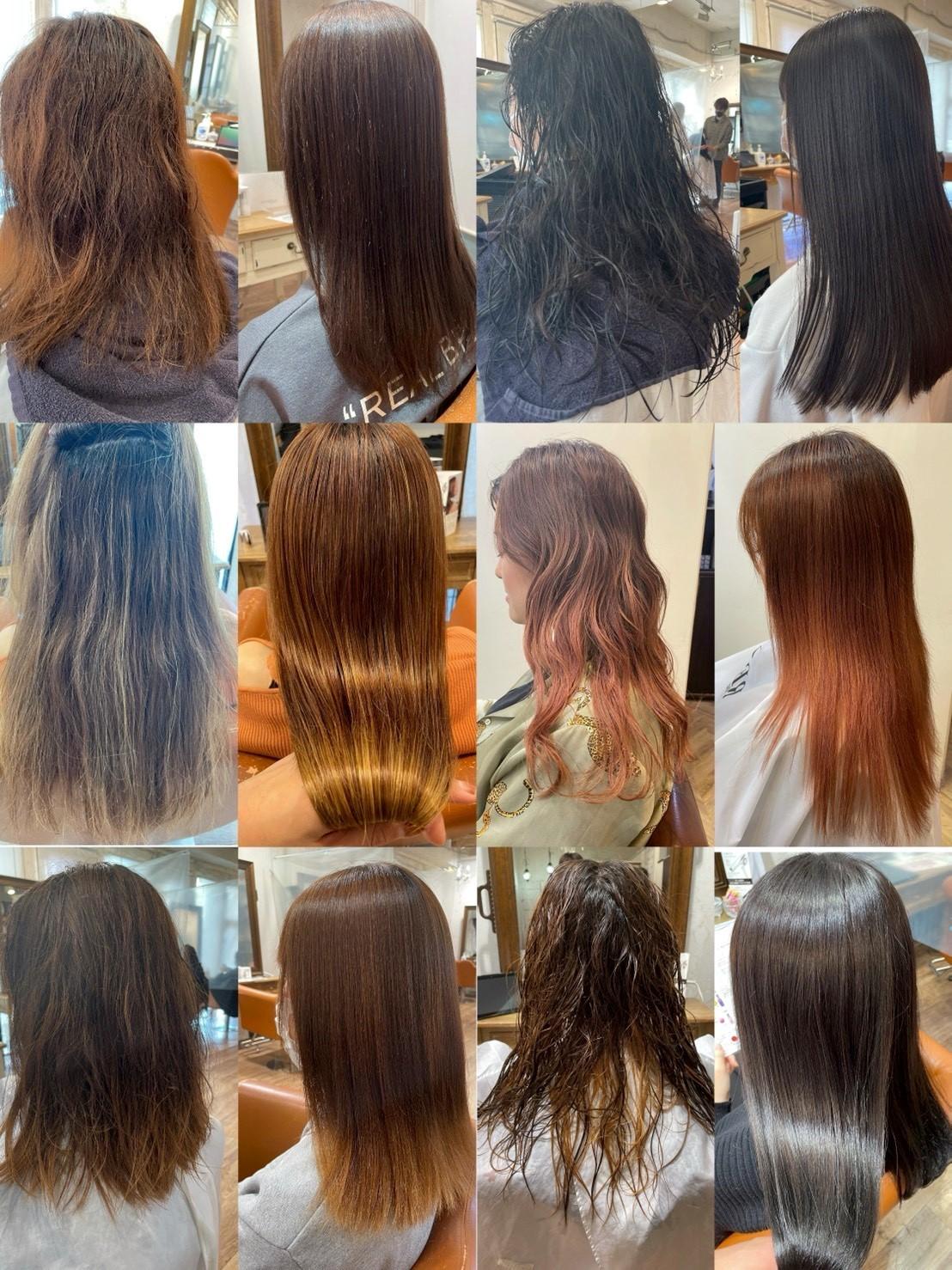 髪質改善酸性ストレート!縮毛矯正の概念が変わります。ブリーチ毛も◎