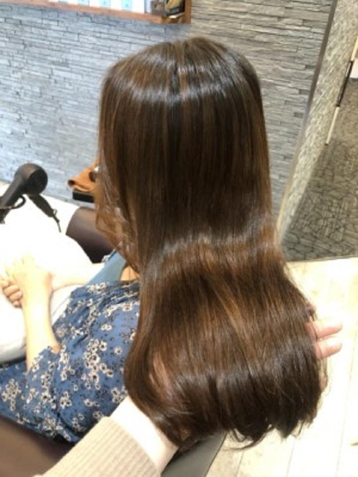 美髪と縮毛矯正を同時に叶える!髪質に合わせた縮毛矯正