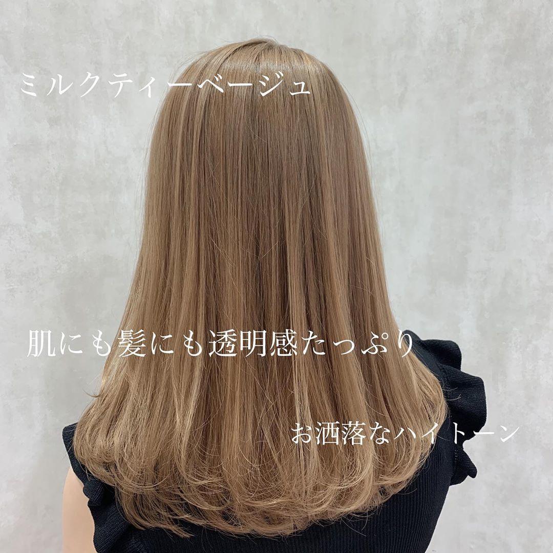 一歩先をいく可愛いカラーで《360°映え髪が叶う!》最旬のラブいstyle提案します♪