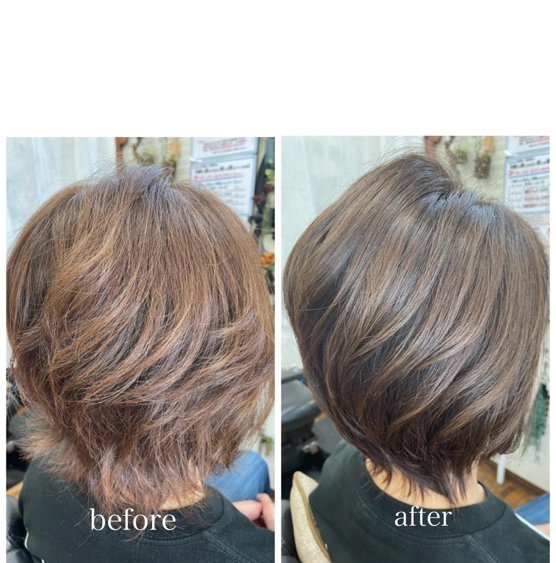 6.予防美髪・頭皮洗浄法のこだわり●頭皮洗浄で髪も身体も健康に!
