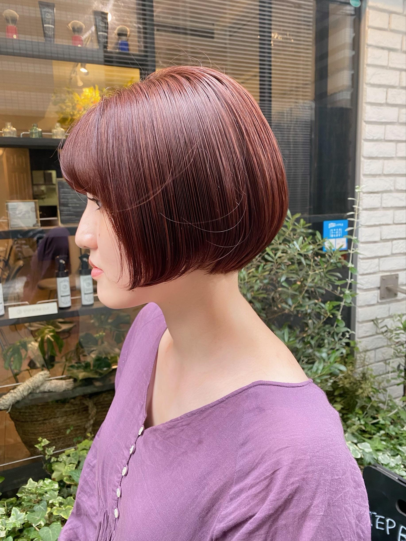 ステップボーンカット+美髪生ミネラル美容液カラー22000円→15,400円
