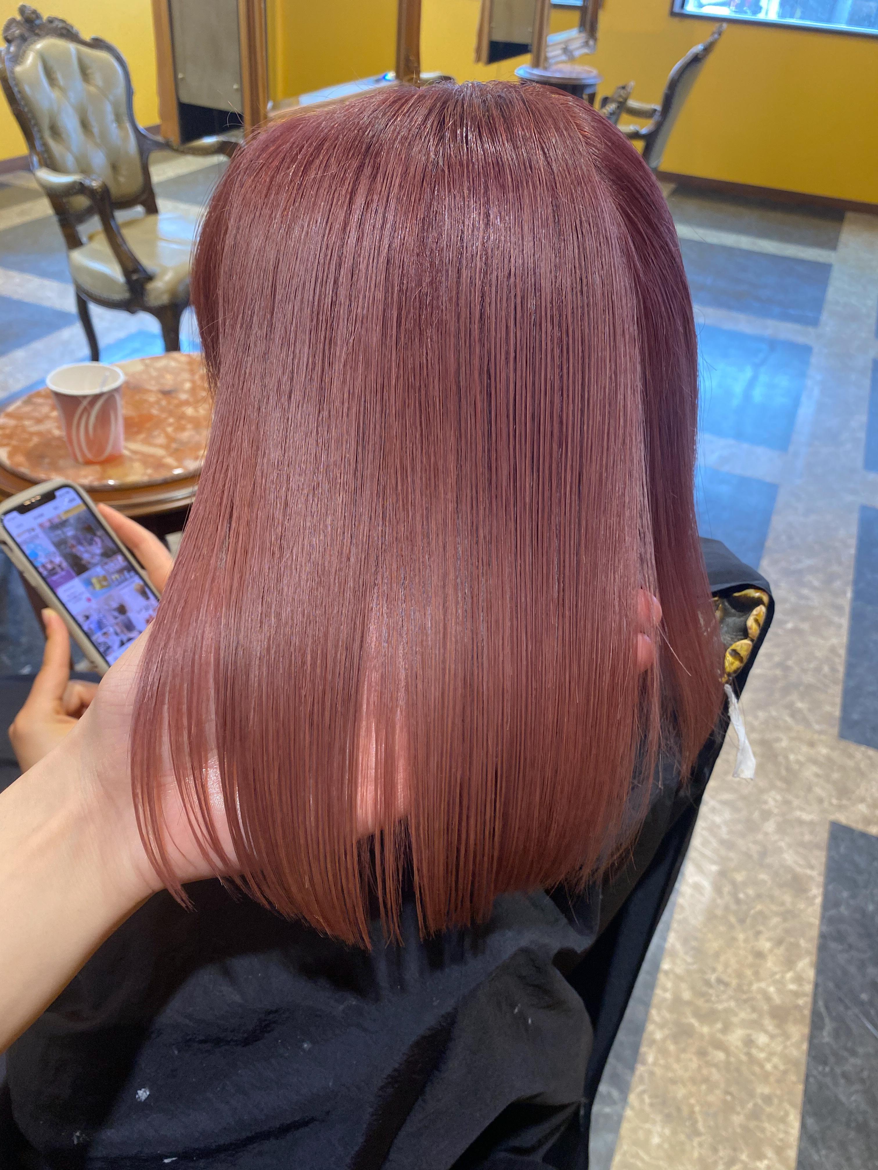 丁寧なカウンセリングで理想をカタチに。ブリーチしている髪でも髪質改善で美髪を叶える♪