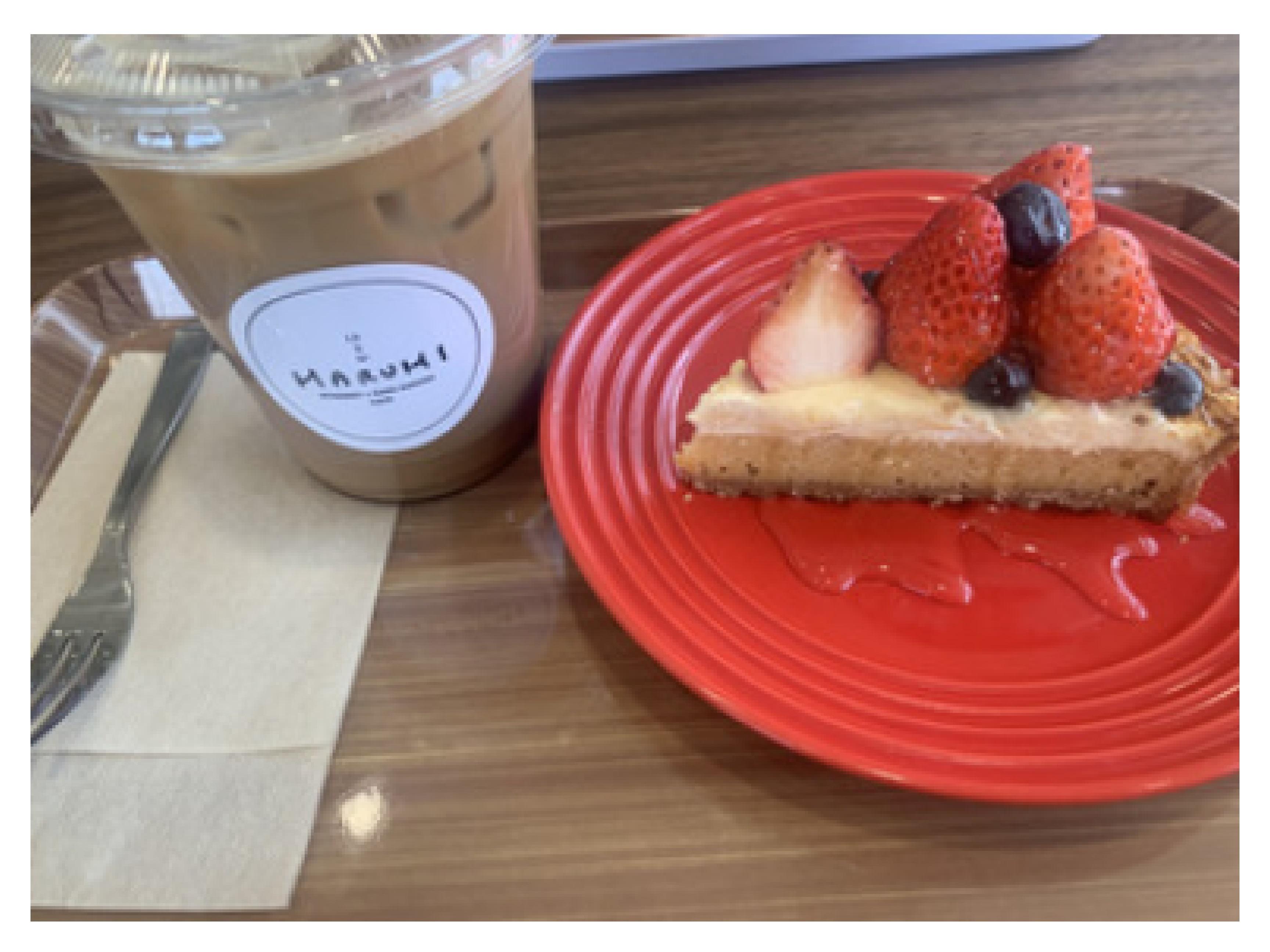 カフェに行ってきました!