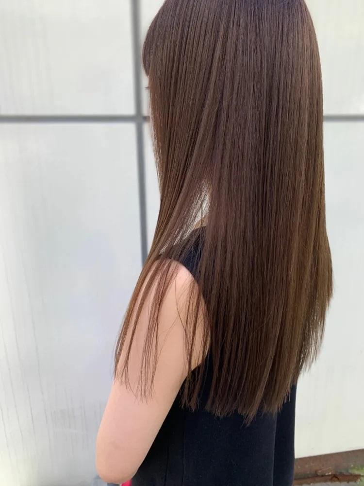 Zinaの「髪質改善」は、艶と柔らかさ、最高に美しい美髪に導くこと◎