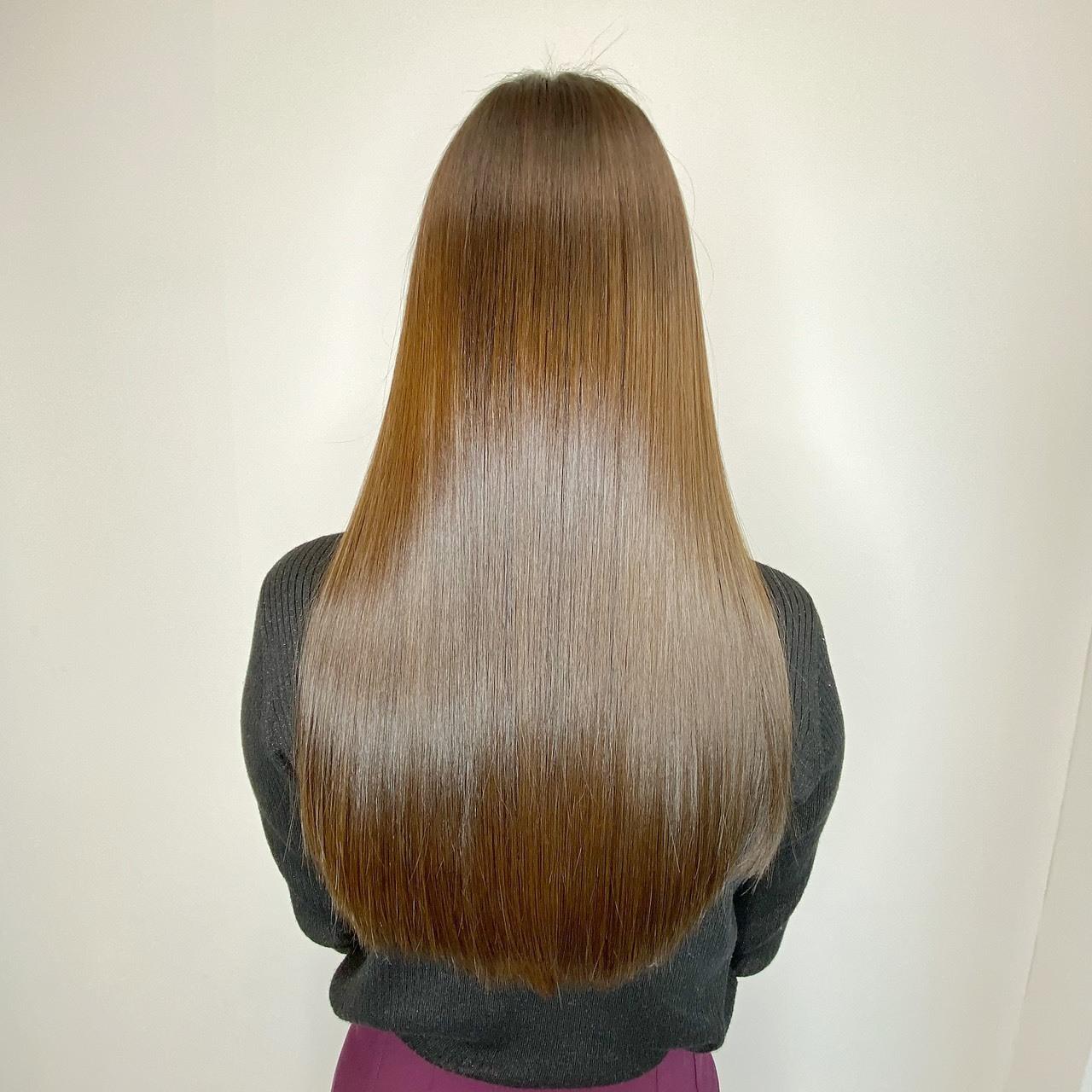 エミュスト自慢の艶カラー&髪質改善!今の髪の状態を診断し、髪質に左右されず理想の質感に導きます◎