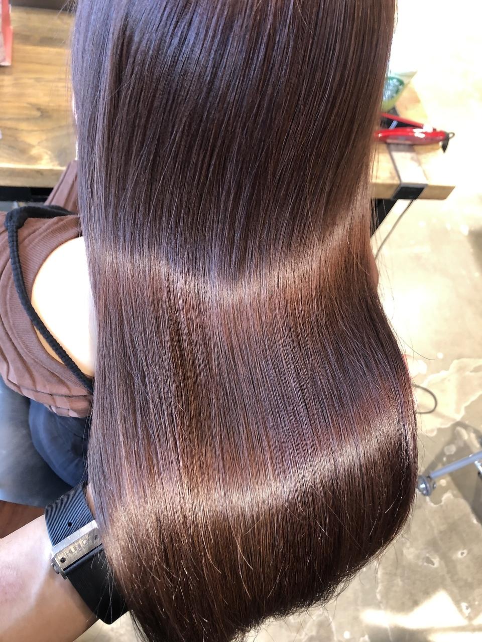 髪の修復・補正、髪質改善はGARDENの「酸熱トリートメント」がオススメ◎