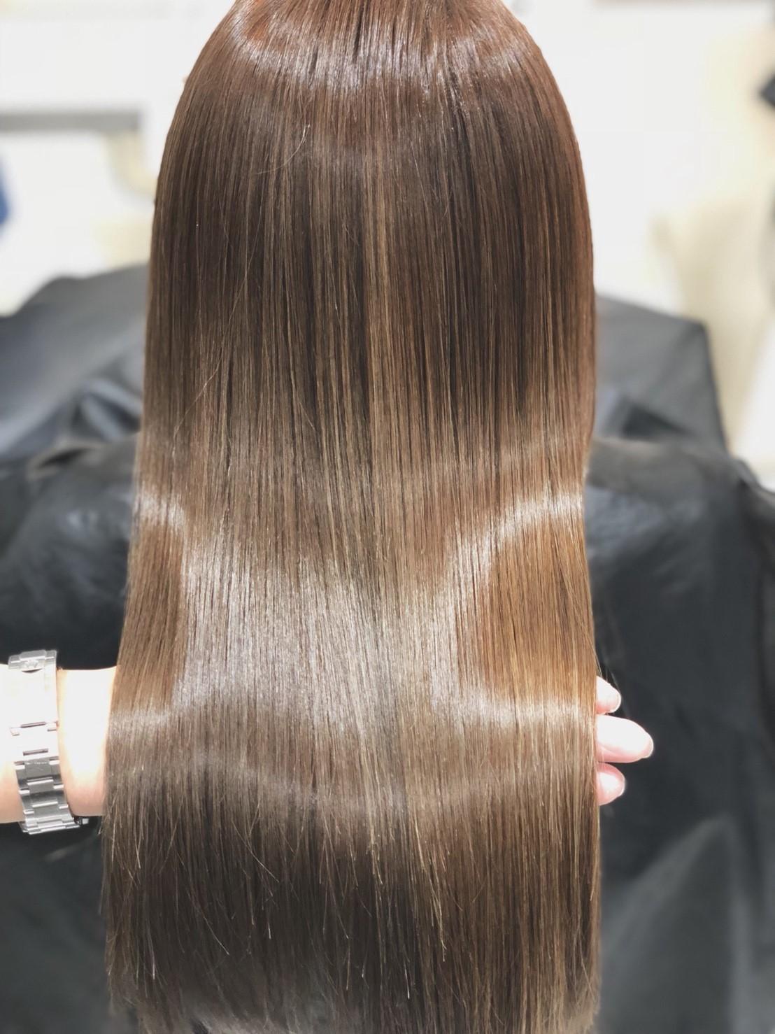 髪質改善トリートメントで髪質改善
